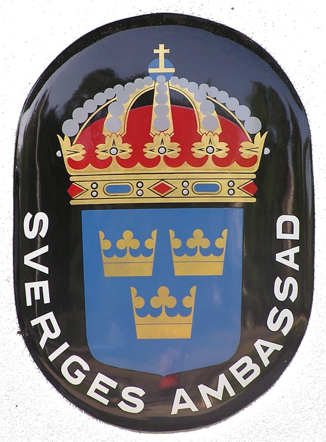 Ansökan om uppehållstillstånd för besök (UT) ska lämnas in på Svenska ambassaden i sökandens hemland
