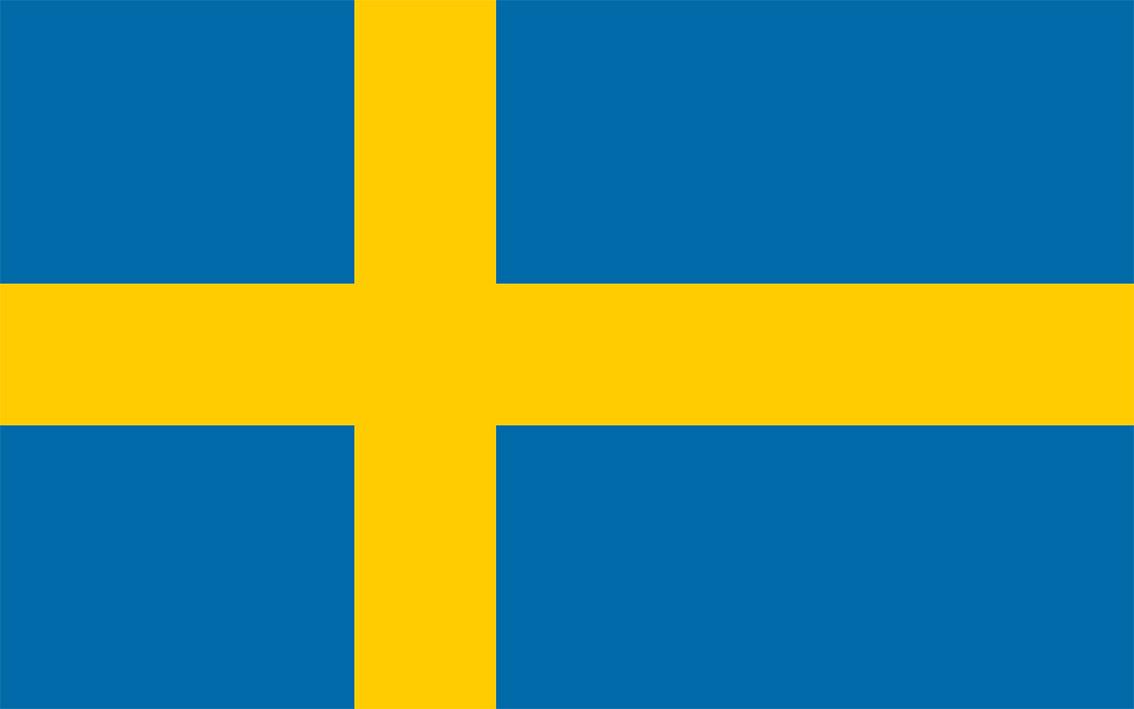 Swedish flag icon size.